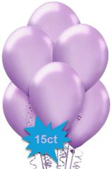 New Purple Latex Balloons, 15ct