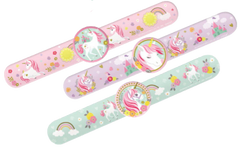 Unicorn Slap Bracelet