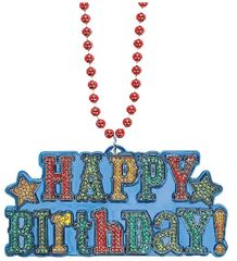 Birthday Brights Bling Necklace
