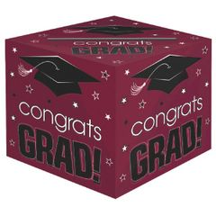 Berry Grad Card Box Holder