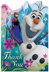 ©Disney Frozen Postcard Thank You Cards, 8ct