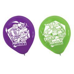 Teenage Mutant Ninja Turtles Printed Latex Balloons