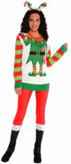 Elf Ugly Sweater Deluxe - Adult S/M