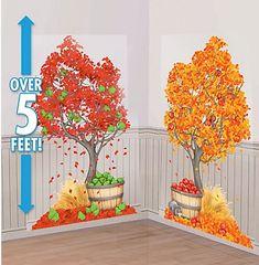 Autumn Trees Scene Setters