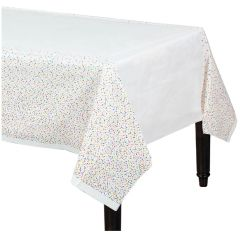 Bake Ware Party Colorful Sprinkles Table Cover