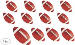 Football Value Pack Assorted Cutouts, 12ct