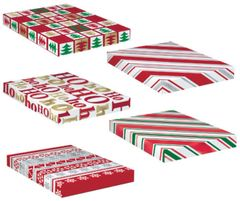 Metallic Christmas Gift Boxes, 5ct