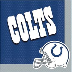 Indianapolis Colts Luncheon Napkins, 16ct