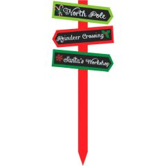 Christmas Arrow Value Yard Stake