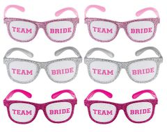 Glitter Team Bride Funshades™
