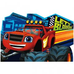 Blaze and the Monster Machines™ Postcard Invitations, 8ct