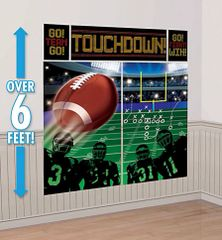Football Scene Setters® Wall Decorating Kit