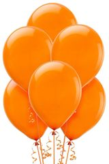 Orange Peel Solid Color Latex Balloons, 72ct