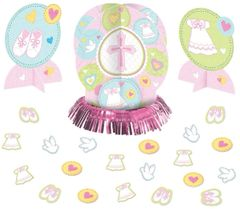 Pink Sweet Religious Table Decorating Kit, 23pc