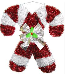 Deluxe Candy Cane Decoration