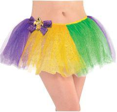 Glitter Mardi Gras Tutu - Adult