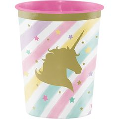 Unicorn Sparkle Favor Cup 16 oz