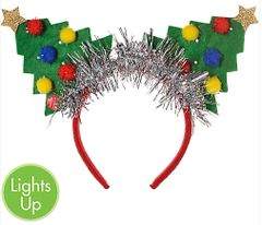 Light-Up Tree Deluxe Headband