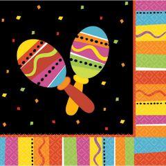 Bright Fiesta Lunch Napkins, 16ct
