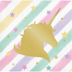 Unicorn Sparkle Beverage Napkins, 16ct