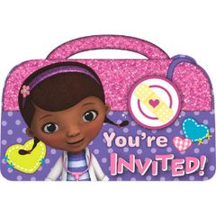 ©Disney Doc McStuffins Invitations, 8ct