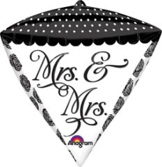 Mrs & Mrs Diamondz 17""