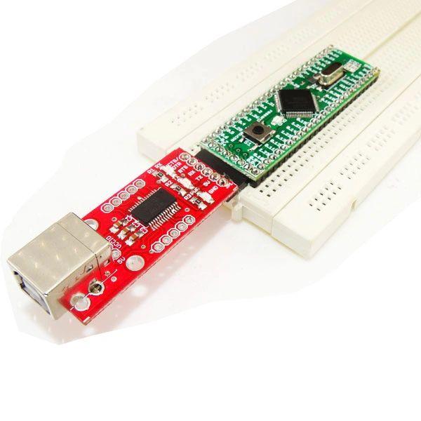 Mini ARM Board-LPC2129 Breadboard Compatible