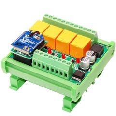 IoT DIN Rail Opto Isolated Relay