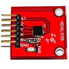 3 axis accelerometer ADXL335