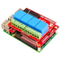 4 Channel Relay Board 12V-Compatible for Raspberry Pi