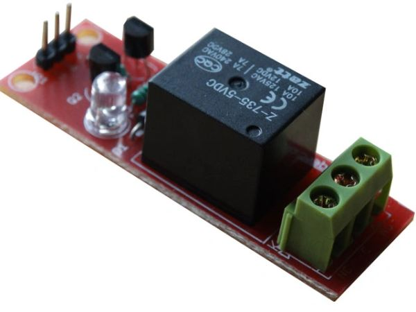 Single Relay 5V Raspberry Pi and Arduino Compatible
