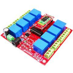 8 Channel Relay Board-Bluetooth
