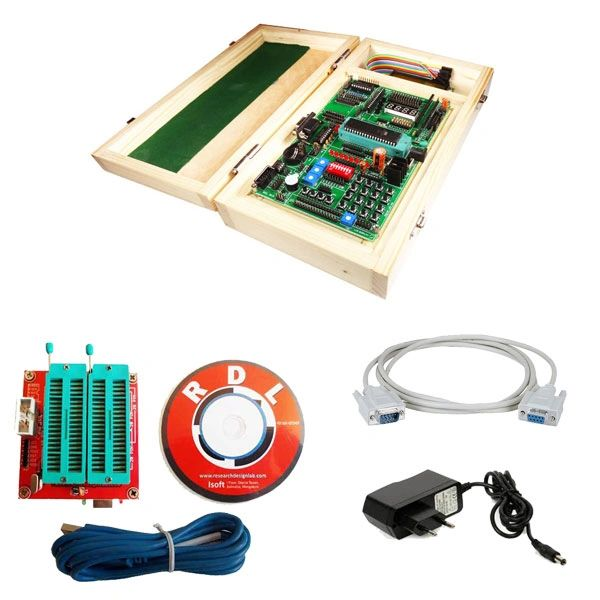 ATMEGA 16 32 64 Development Board-Trainer Kit