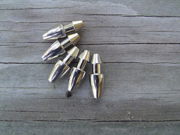 Chrome Plated Brass Lure Heads
