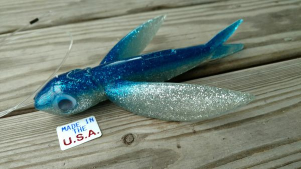 Yummee Bird-7inch Flying Fish Lure -MADE IN USA!