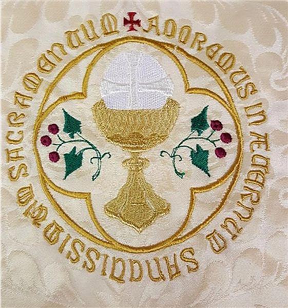 Corpus Christi Embroidery Design Fm Church Supplies Ltd