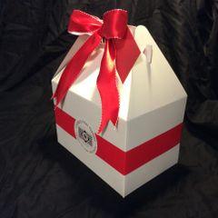 Gable Gift Box - White - 1 Dozen