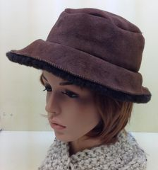 Shearling Bucket Hat