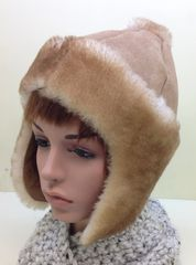 Shearling Snow Bunny Hat