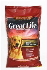 Great Life Grain & Potato Free Wild Salmon Dog Food