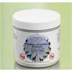 Earth Animal Herbal Internal Flea and Tick Powder Yeast Free (8 oz)
