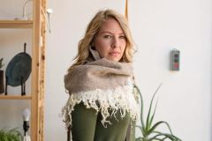 Infinity Scarf with Curly Locks