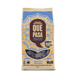 BEST_Que Pasa Organic Blue Corn Tortilla Chips 425g 有机玉米薯片425g大包装