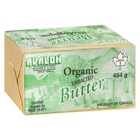 Dairy_Avalon Organic unsalted Butter 454g