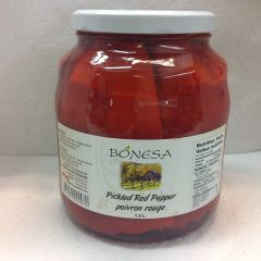 BOS_Bonesa Pickled Red Peppers 1500ml (No Shipping, Pick-Up Only)
