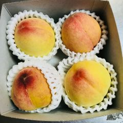 California sweet juicy Peach 4 pcs【桃子王者】加州寿康水蜜桃体验箱4颗礼品箱