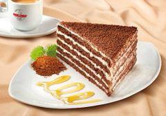 Marlenka with cocoa 100g 蜜莲卡巧克力蜂蜜千层蛋糕100克盒