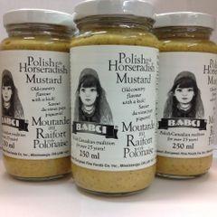 POL_Babci Polish Horseradish Mustard 250g