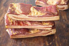 Small Dry Bacon 0.9 lb 风干北方风味腊肉(无骨有皮),约0.9磅