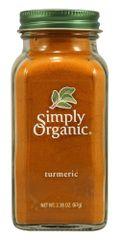 GRAIN_Simply Organic Turmeric 67.5g 有机姜黄粉 /瓶 (67.5克)